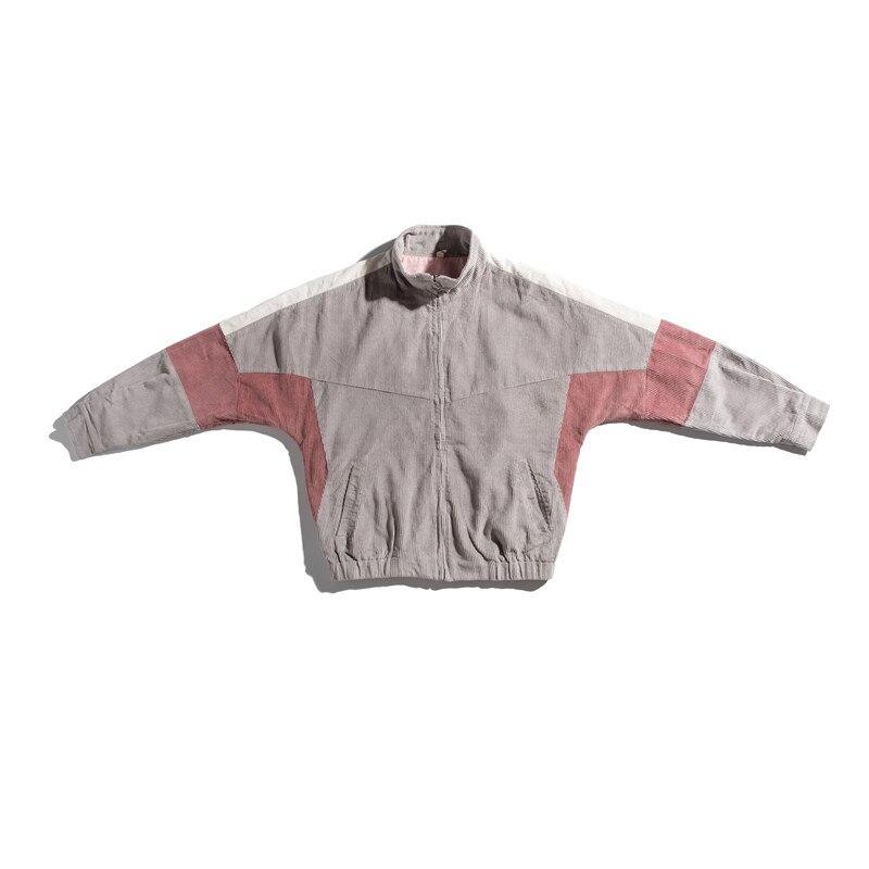 Осенняя новая мужская куртка, модная, потертая, одноцветная, повседневная, рабочая, куртка, пальто, Мужская Уличная, дикая, свободная, куртка ... - 3
