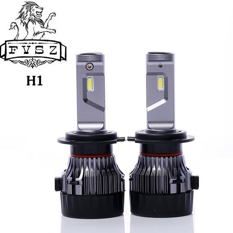 FYSZ MINI H1 Car LED Blade Headlight 30W 9-30V IP68 6000K Fog Lamp High Beam 5000LM Import Power Bead