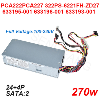New PSU For HP S5 Power Supply PCA227 PCA222 PS-6221-9 7 PCA322 633193-001 633195-001 633196-001 D10-220P1A 1