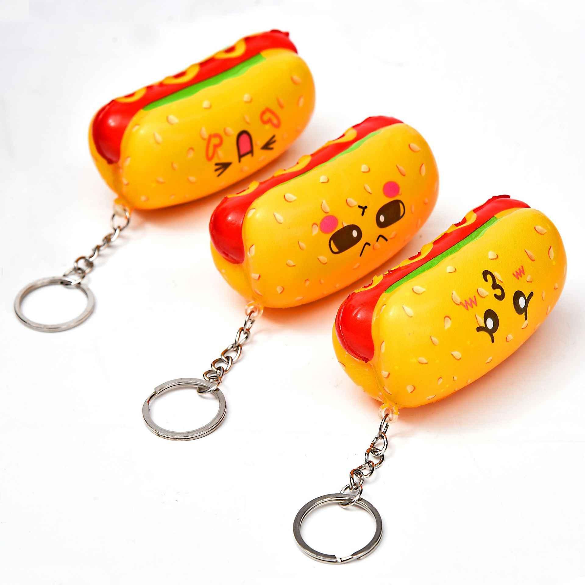 Antistress Squishies Squishy Lento Subindo Gadgets Funny Kids Stress Relief Bonito Keychain do PLUTÔNIO Novo Aperto Squichies Brinquedos Da Novidade