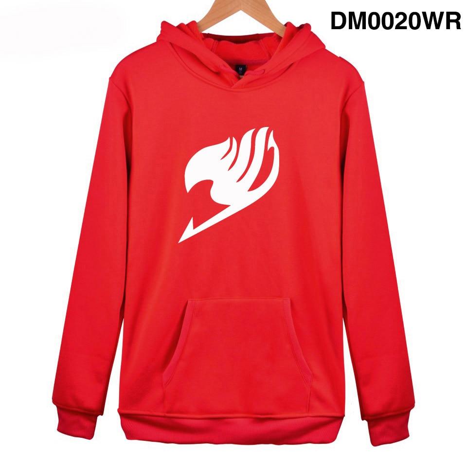 Personality Fairy Tail Hoodies Sweatshirt Men/Boy Autumn Winter Hoodies Harajuku Hoodie Fairy Tail Kids Pullovers