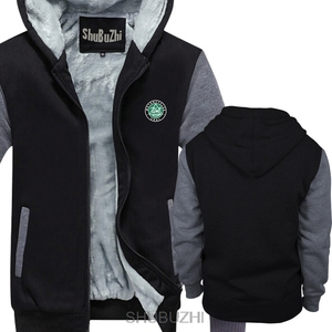 Image 4 - Ural Motorcycles Black hoodie shubuzhi New winter thick hoodies Men brand warm jacket male coat sbz4467
