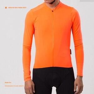 SPEXCEL 2019 Last Top quality Unisex Pro team aero II thermal fleece cycling jersey long sleeve winter Brushing Seamless Process(China)