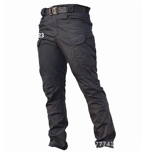 Men Tactical Clothing Cargo Pants Overalls Men's Pants Outdoor Quick Dry Waterproof Trousers for men Military Pants Workwear 2