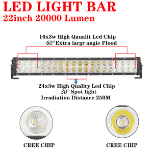 Image 2 - Aeobey Slim LED Light Bar 22inch 120w Work Light for SUV 4x4 Offroad 12V 24V Led Work Light Trucks SUV Accessories Fog Lamp