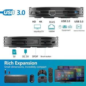 Image 4 - HHK1 Max Plus Smart TV Box RK3368PRO Octa Core 4GB RAM 128GB ROM 1000M LAN 5G WIFI bluetooth 4.0 Android 9.0 4K Set Top Box