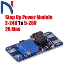 MT3608 DC-DC регулируемый Повышающий Модуль питания конвертер Напряжение Регулятор модуль 2 V-24 V до 5 V-28 V 2A Max