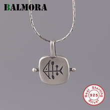 Fish-Pendant BALMORA Jewelry-Accessories Charm 925 Real-Sterling-Silver Women Lover Original