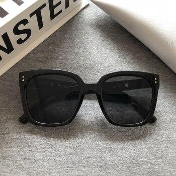 2021 Brand New Korea Jennie Cooperation GM Sunglasses Fashion Women Elegant Sunglasses Classic Lady Square Frame Glasses Kuku 1