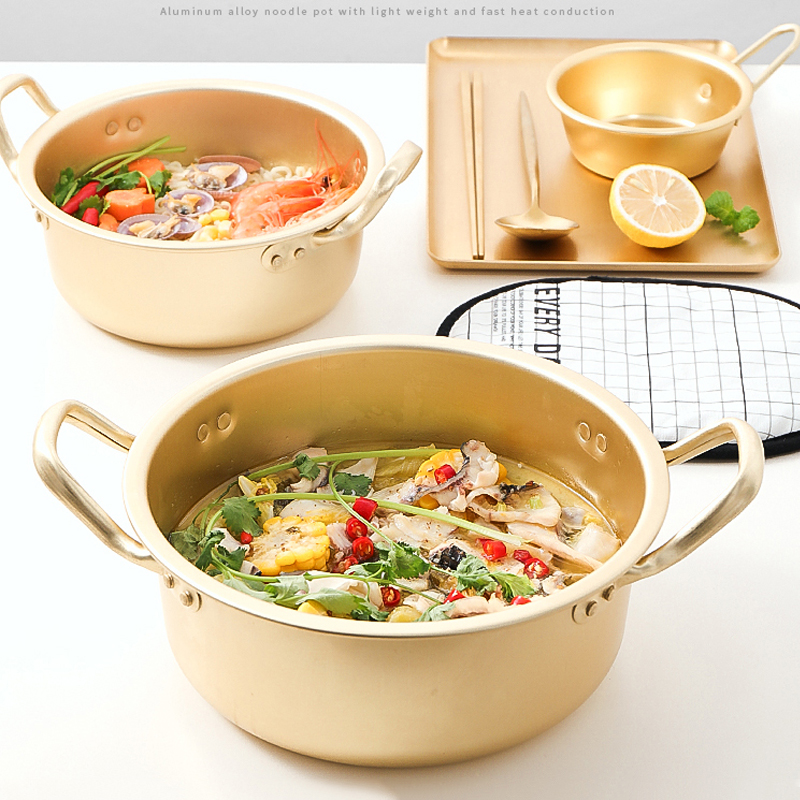Household Gold Non-Stick Soup Pot 3
