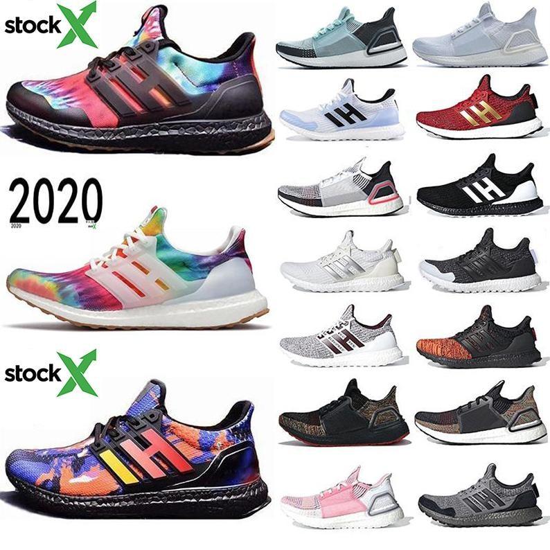 Ultra 4.0 5.0 2020 Men Running Shoes Woodstock Orca Ultraboost Triple Black CNY Blue Grey Sport Sneakers