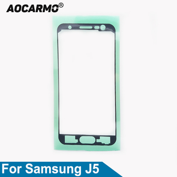 Aocarmo For Samsung Galaxy J5 2015 LCD Touch Screen Adhesive Glue Tape Sticker image