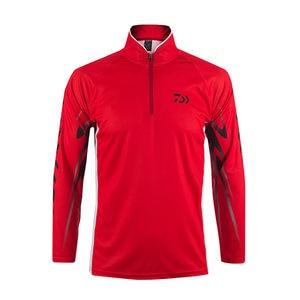 Image 4 - 2020 חדש Daiwa חולצה מקצועי דיג חולצה במבוק סיבי Upf 50 + לנשימה מהיר יבש אנטי Uv חולצה בגדי דיג