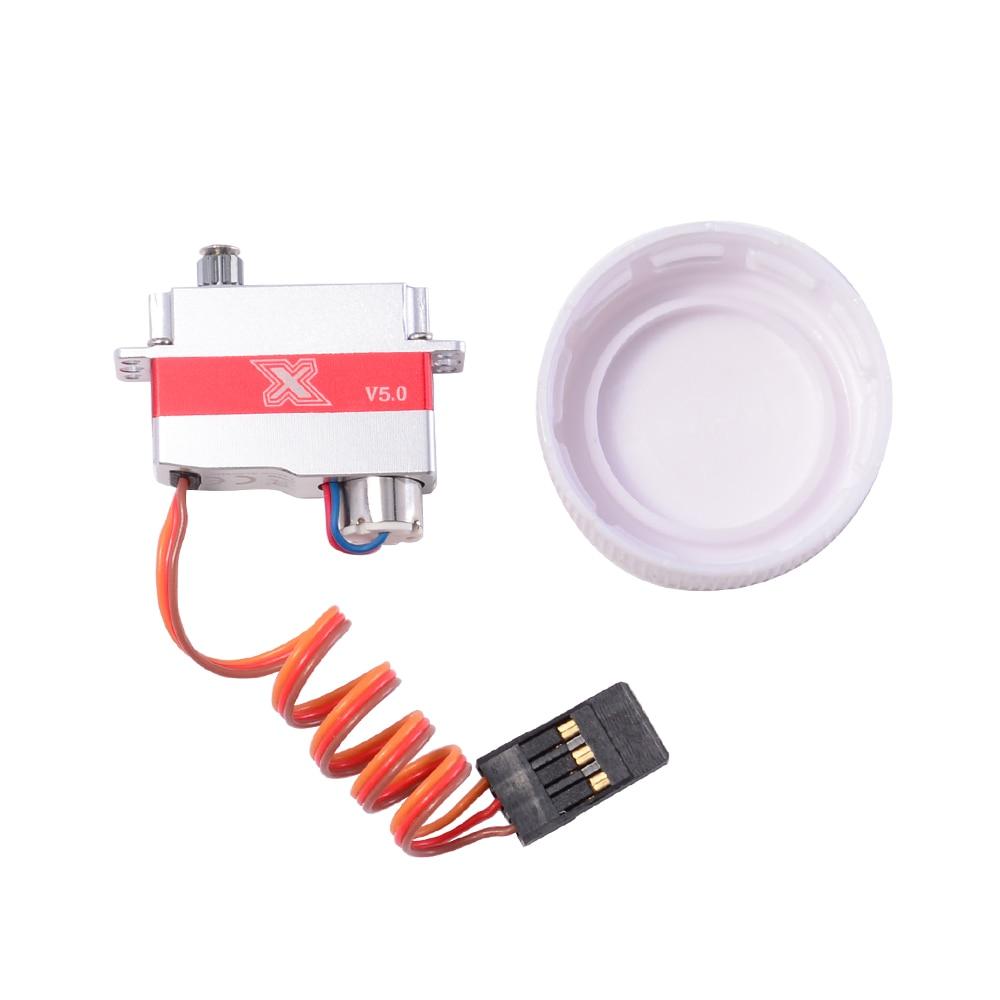 hv coreless motor servo digital planador asa 03