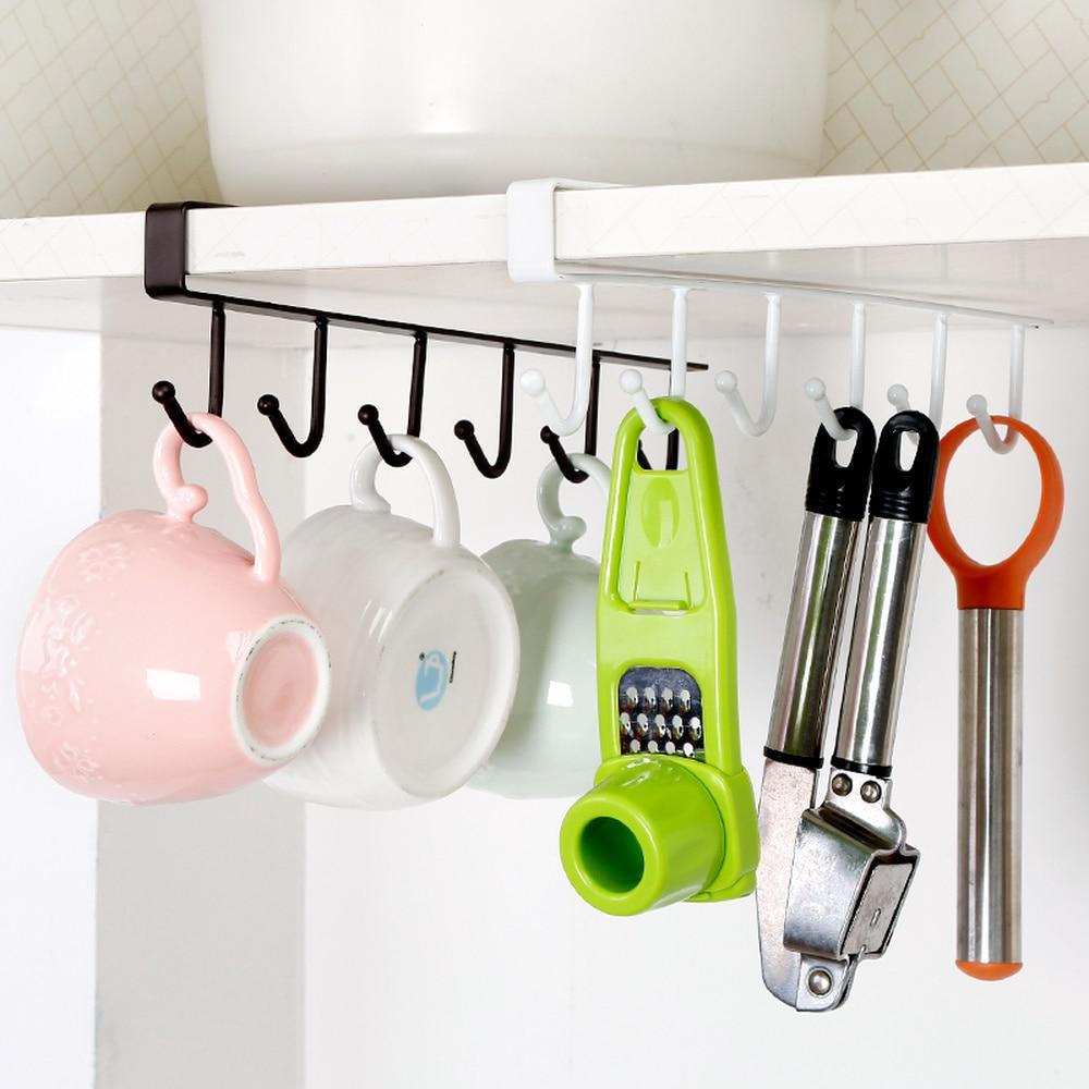 Kitchen Bathroom Storage Rack Storage Rack Multi-function Cabinet Hook Shelf Towel Chest Cup Drain Rack WF802416