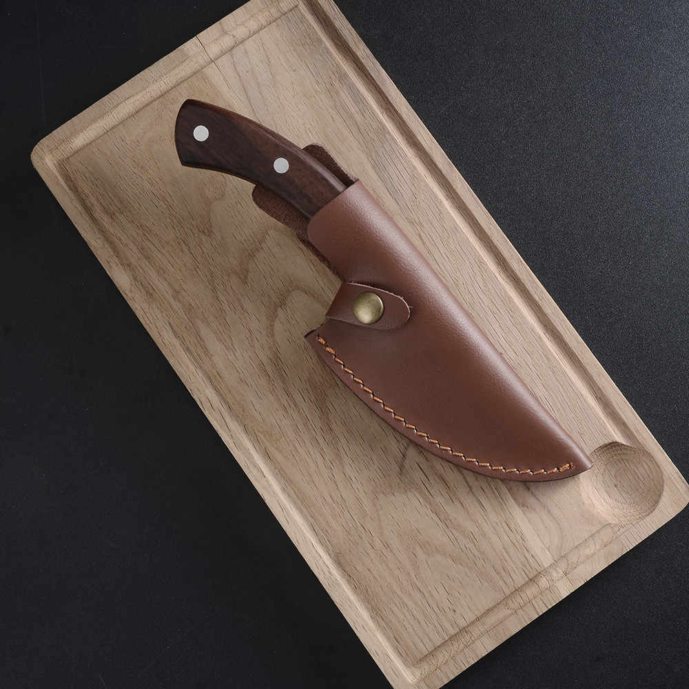 Juego de cuchillos al aire libre portátiles Qing, cuchillo de caza para acampar, cuchillo de supervivencia para caminata, herramienta de mano de defensa propia, accesorios de cocina para cocinar