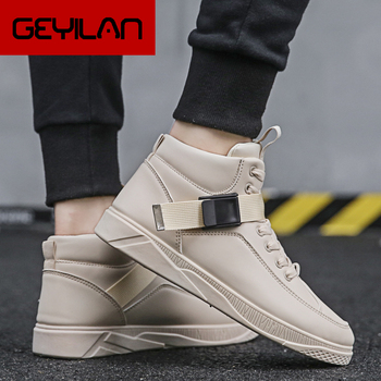 Casual Shoes Men's Vulcanize Shoes Autumn Fashion High Top New Leisure Comfortable Footwear Tenis Masculino Adulto Sneakers