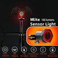 MEROCA велосипед Smart хвост светильник интеллигентая (ый) Сенсор тормозной светильник дорожный велосипед MTB Водонепроницаемый задний светильни...