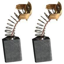 Горячая нержавеющая сталь+ углеродистая моторная щетка 18 мм x 13 мм x 7 мм-2 шт