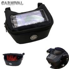 For Aprilia MP3-250 MP3-300 MP3-400 SRV850 motorcycle handlebar GPS navigation bag, waterproof mobile phone bag
