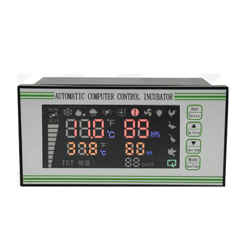 Xm-18S Automatic Egg Incubator Controller Thermostat Temperature Humidity Incubator Sensor Probe Incubator Control System