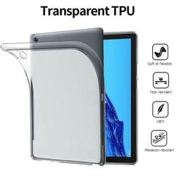 Мягкий чехол из ТПУ для Huawei MediaPad M5 M6 Lite Pro 10,8 8,4 10,1 8 дюймов, противоударный защитный чехол для Huawei T3 T5, чехол из ТПУ