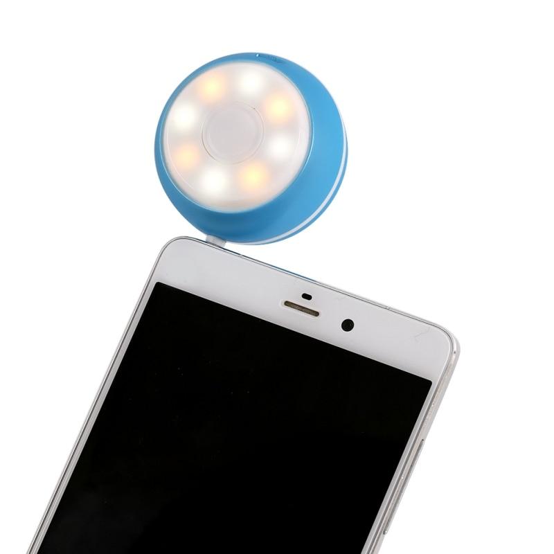 EDAL LED Ring Flash Music Speaker Universal Selfie Light Camera for Phones in Bookshelf Speakers from Consumer Electronics