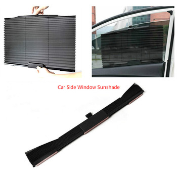 Car Side Window Sunshade Folding Sun Shade Shield Sun Uv Protection Dog Baby Roller Premium Tear Resistant Shading Curtain Auto image