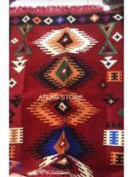 Tassel Knitted Turkish Carpet For Living Room Kilim Cotton Rug Rectangle Area Rug Hand Made Carpets Bohemia Mandala Flora