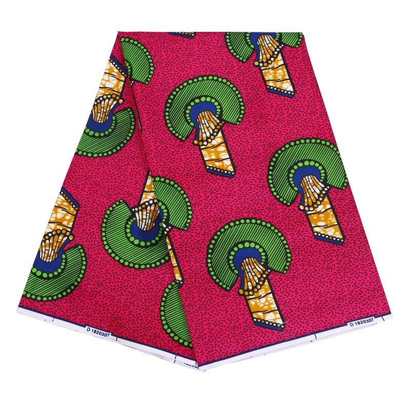 Fashion Style Pure Polyester African Ankara Wax Fabric Skin-Friendly High Quality Ankara African Wax Print Fabric For Wedding