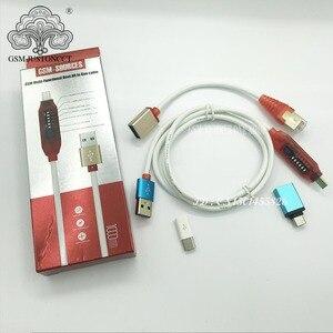 Image 3 - Tüm önyükleme kablosu (kolay anahtarlama) mikro USB RJ45 All in One çok fonksiyonlu önyükleme kablosu edl kablo