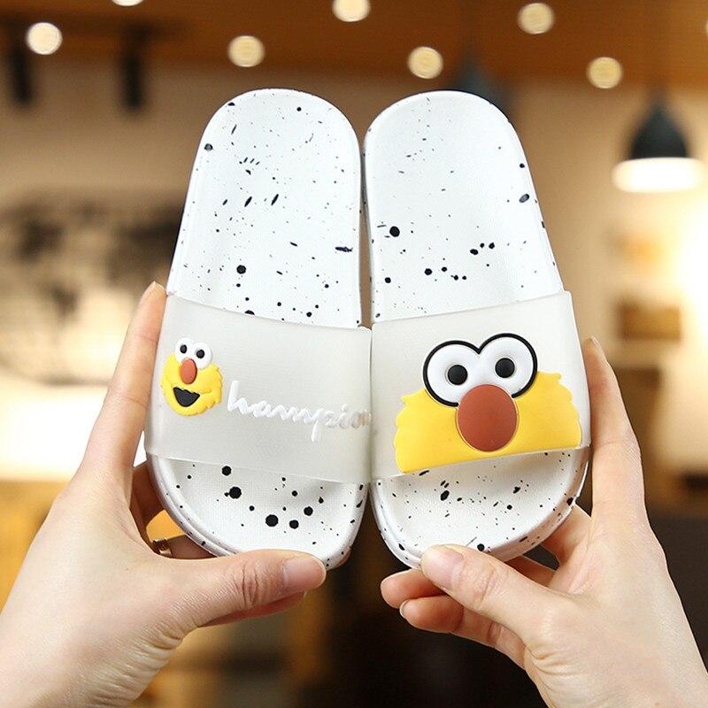 Kids Slippers Shoes Summer Girls Slippers Cartoon Animal Children Sandals Boys Home Bath Slippers Beach Sandals 2020 New Fashion