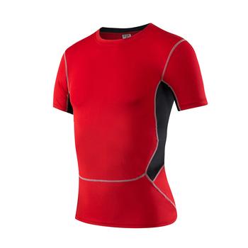 Męska koszulka sportowa z krótkim rękawem letnia koszulka na co dzień Top rowerowy koszulka sportowa koszulka Fitness odzież siłownia Rashguard topy tanie i dobre opinie yuerlian CN (pochodzenie) Wiosna summer AUTUMN Winter Poliester Pasuje prawda na wymiar weź swój normalny rozmiar S M L XL XXL XXXL