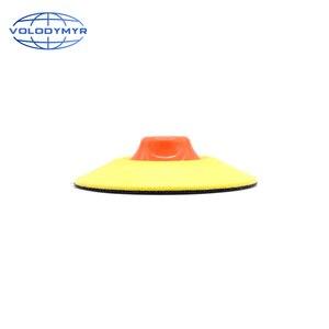 Image 4 - Rotante Piastra di Supporto Gancio e Anello di 5 Pollici con M14 o M16 Filo per Auto Lucidatrice Macchina di Lucidatura Tamponi Per Lucidatura pad polacco
