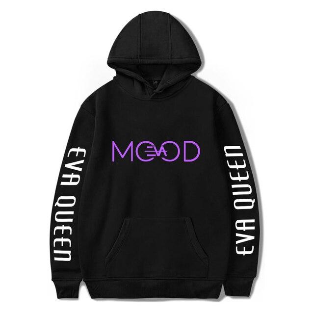2020 Eva Queen Hoodies Men Casual Streetwear Sweatshirt Sudadera Hombre Eva Queen Hoodie For Men/Women 2