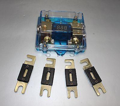 4 pièces 300A ANL double numérique platine ANL DIST bloc 0-4 porte-fusible