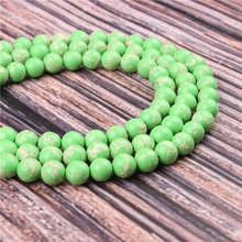 Hot Sale Natural Stone Emperor Green 15.5 Pick Size 4/6/8/10/12mm fit Diy Charms Beads Jewelry Making Accessories