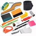 FOSHIO Car Accessories Window Tinting Film Kit Carbon Fiber Vinyl Wrapping Squeegee Scraper Knifeless Tape Wrap Tools Holder Bag