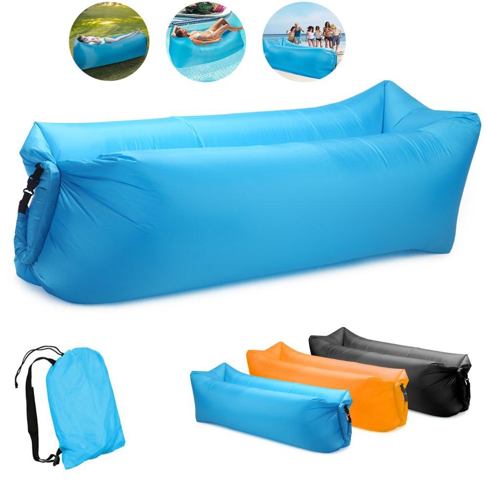 Inflatable Sofa Lazy Bag Camping