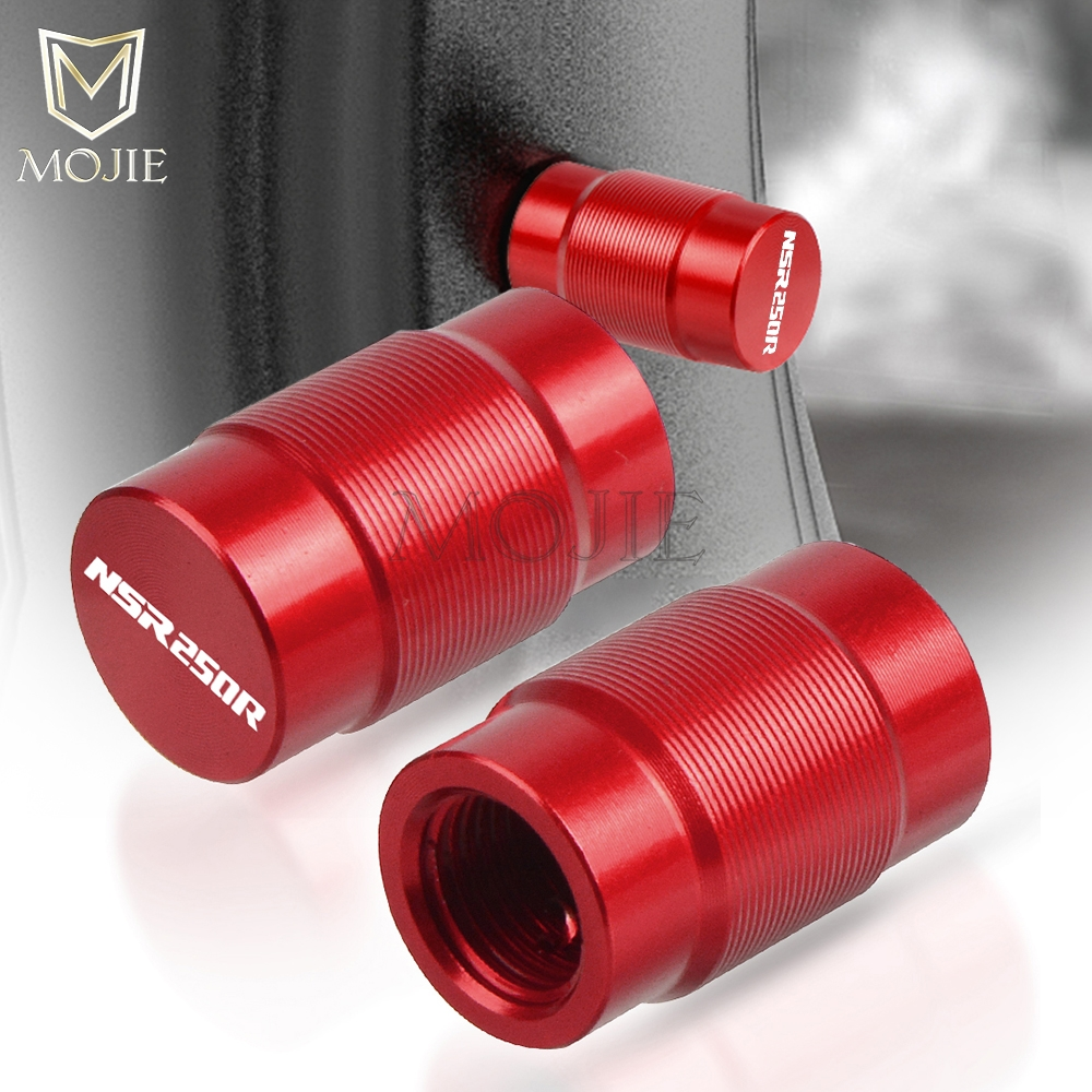 Motorcycle CNC Vehicle Wheel Tire Valve Air Port Stem Caps Covers Plug For Honda NSR250 <font><b>NSR</b></font> <font><b>250</b></font> MC18 MC21 PGM2/PGM3/PGM4 image