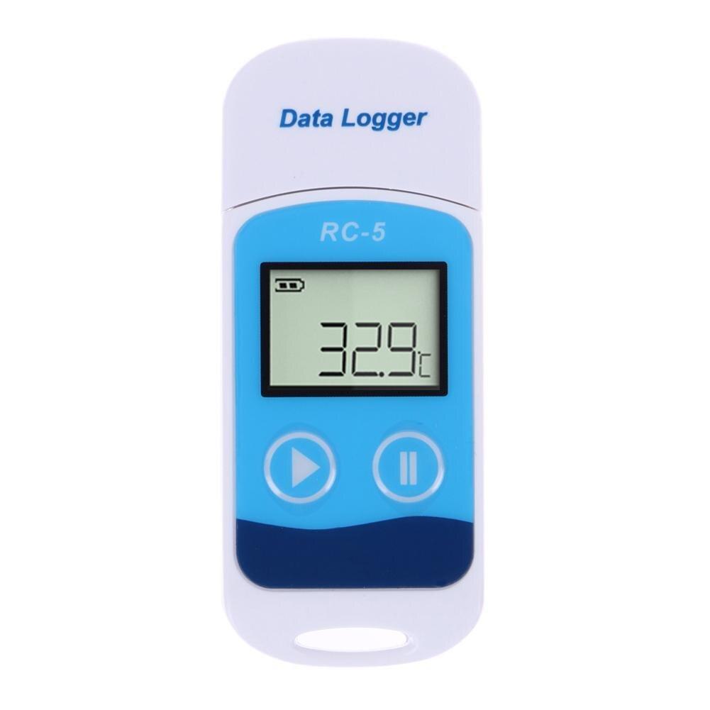 Мини USB-Регистратор температуры, цифровой измеритель температуры с внутренним датчиком