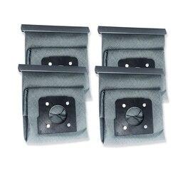 4PC Wasbare Dust Doek Tas Hepa Filter Cleaner Bag voor LG V-743RH V-2800RH V-943HAR V-2800RH V-2810 Stofzuiger