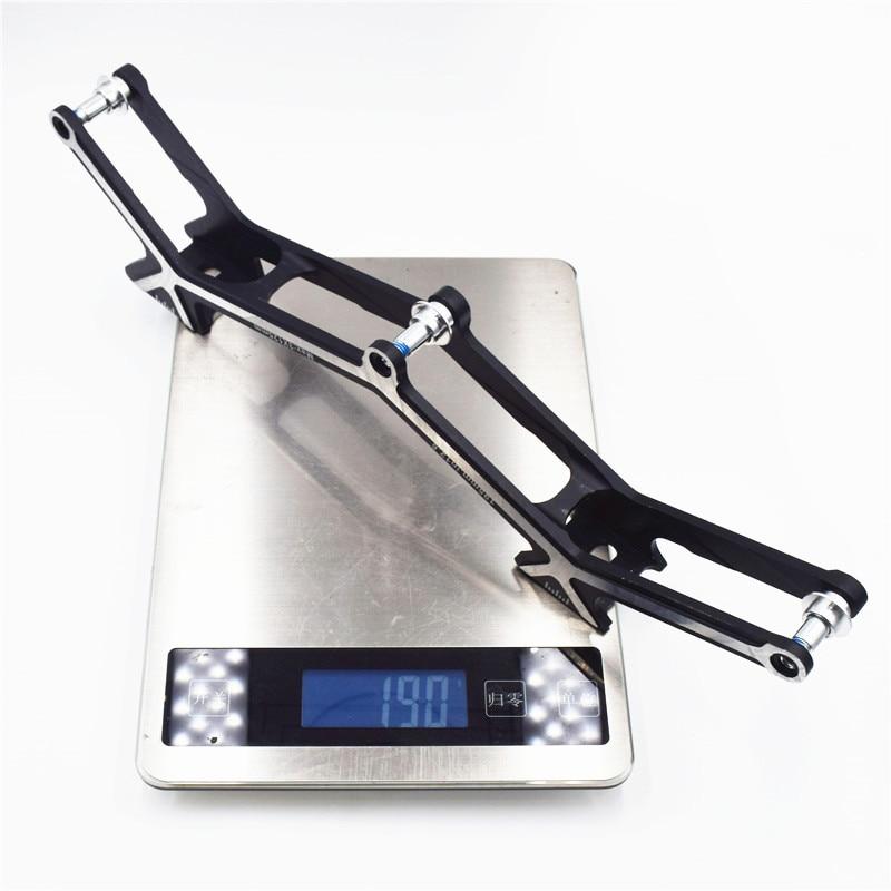 7075 Alloy CNC Superlight inline speed skates frame for 3*125mm 3*110mm 3*100mm Roller Patines Skating Base 125 Marathon Chassis