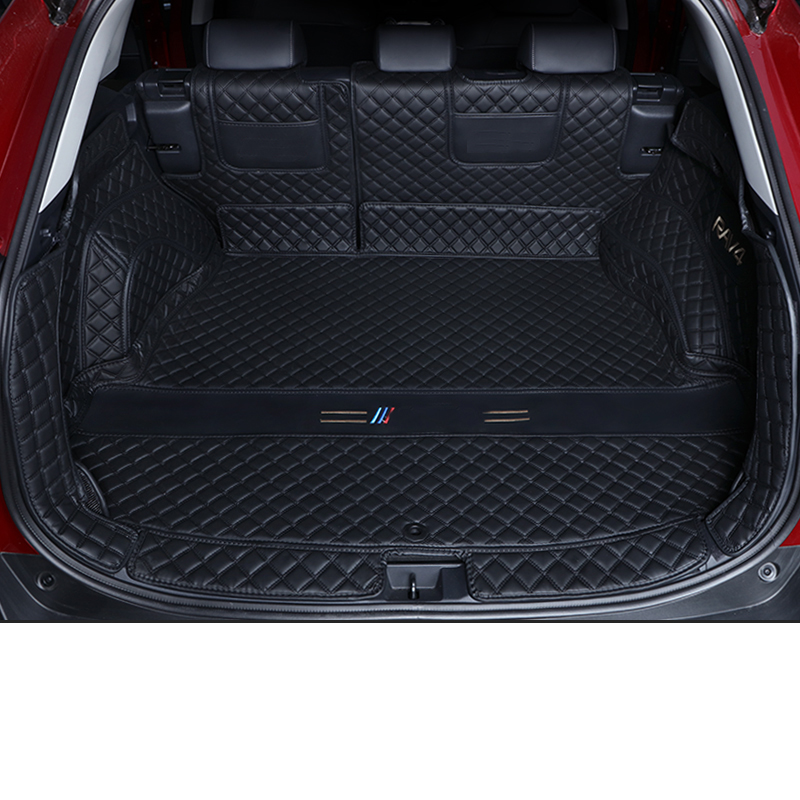 Lsrtw2017 Leather Car Trunk Mat Cargo Liner For Toyota Rav4 2019 2020 2021 Xa50 Accessories Rug Carpet Boot Auto Interior