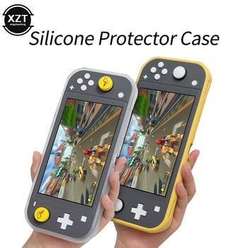 Силиконовый чехол для Nintendo Switch Lite, защитный мягкий чехол для контроллера Nintendo Switch Lite, чехол для консоли, Держатель корпуса|Портативные игровые консоли|   | АлиЭкспресс
