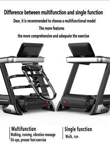 Electric Treadmill Fitness-Equipment Home for Custom Cross-Border Source-Factory-Processing
