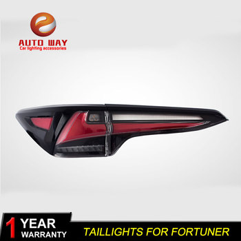 Car Styling Tail Lights Taillight case for Toyota Fortuner 2017-2019 Toyota Fortuner Tail Lights LED Taillghts Rear Lamp LED
