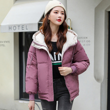 Winter Jacket Women Korean Woman Parkas Jackets Coats Plus Size XXL Hooded Coat Puffer
