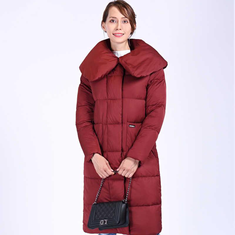 2020 neue Winter frauen Mantel Plus Größe Mit Kapuze Mode Warme Frauen Unten Jacke Hohe-qualität Biologische-Unten weibliche Parkas Docero