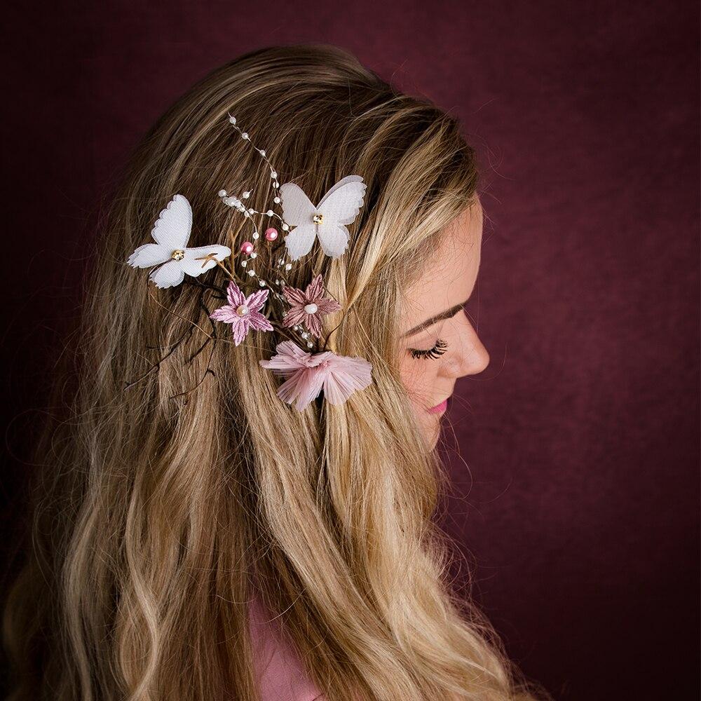 Don&Judy  Flower Crown Hair Band Photo Shoot Floral Headband Garland Girls Women Accessories Photography Props